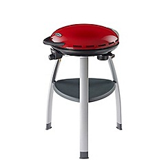 Outback - Red 'Trekker' portable gas barbeque