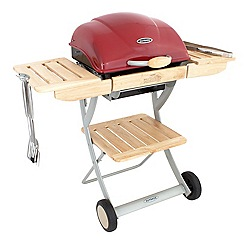 Outback - Red 'Omega 200' portable gas barbeque