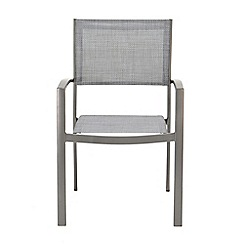 Debenhams - Set of 4 'Solis' carver dining chairs