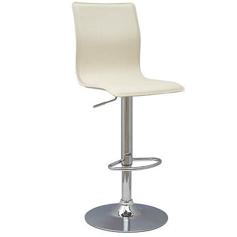 Debenhams - Cream +Midnight+ gas lift bar stool