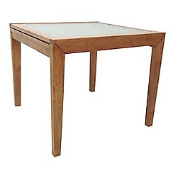 Debenhams - Rubberwood 'Cheshire' extending table