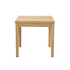 Debenhams - Oak finished 'Jackson' extending table