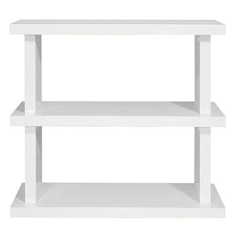 Debenhams - White +Nash+ small bookcase
