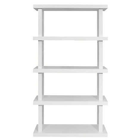 Debenhams - White 'Nash' large bookcase