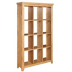 Debenhams - Oak 'Fenton' open shelving unit