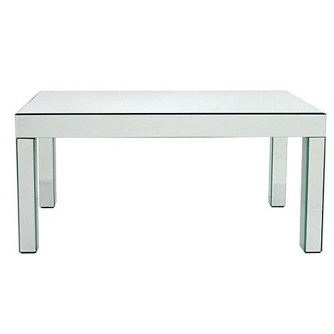 debenhams mirrored coffee table at