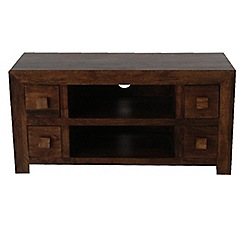 Debenhams - Mango wood TV unit