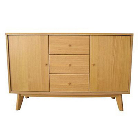 Debenhams - Oak finished +Metro+ sideboard