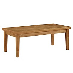 Debenhams - Oak 'Fenton' coffee table