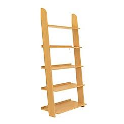 Debenhams - Wood effect 'Nash' open shelving unit