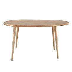 Debenhams - Wooden 'Pebbles' coffee table