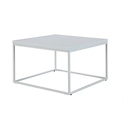 Ben de Lisi Home - White metal 'Helsinki' coffee table