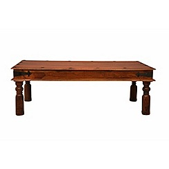Debenhams - Sheesham wood 'Maharaja' coffee table