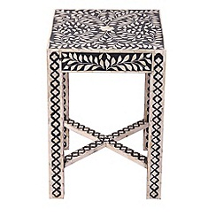 Black and White Table - Debenhams