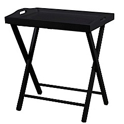 Debenhams - Black 'Vinny' tray table