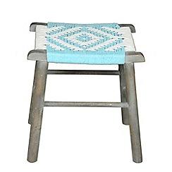 Debenhams - Mango wood 'Samita' stool