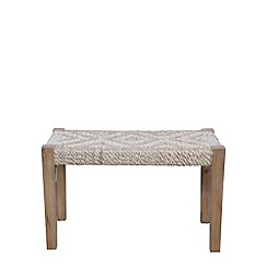 Debenhams - Mango wood 'Garati' stool