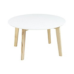 Debenhams - White 'Messina' coffee table