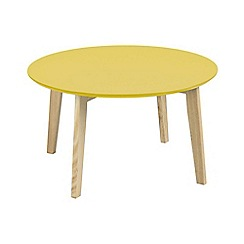 Debenhams - Yellow 'Messina' coffee table
