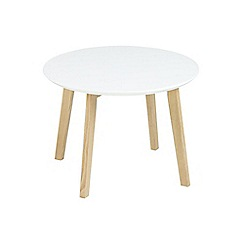 Debenhams - White 'Messina' side table