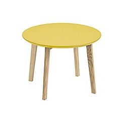 Debenhams - Yellow 'Messina' side table
