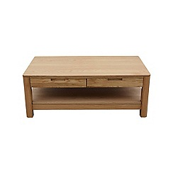 Ben de Lisi Home - Oak 'Seattle' coffee table
