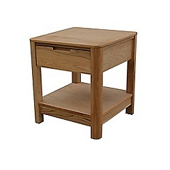 Ben de Lisi Home - Oak 'Seattle' side table
