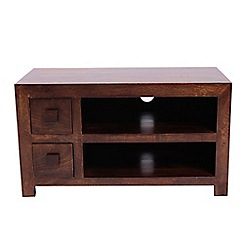 Debenhams - Mango wood small TV unit