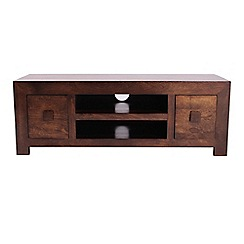 Debenhams - Mango wood large TV unit