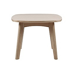 Debenhams - Oak 'Marley' side table