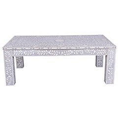 Debenhams - Bone inlay 'Ankara' coffee table