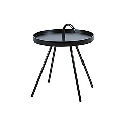 Debenhams - Black 'Maisie' side table