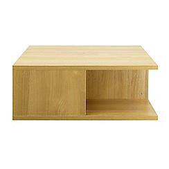 Debenhams - Oak 'Nash' coffee table