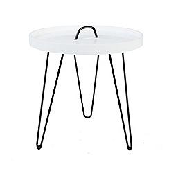 Debenhams - Round button side table