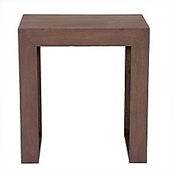 Debenhams - Mango light wood 'Jakarta' nest of 2 tables