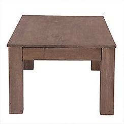 Debenhams - Mango light wood 'Jakarta' side table
