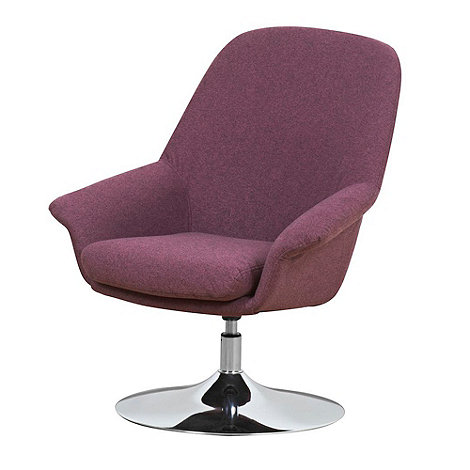 Purple Utah Swivel Chair