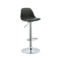 Debenhams - Black 'Reno' gas lift bar stool