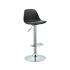 Debenhams - Black 'Reno' gas lift bar stool