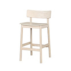 Debenhams - Oak 'contempo' bar stool