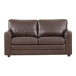 Debenhams - Bonded leather 'Lola' sofa bed