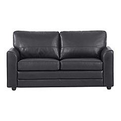 Debenhams - Bonded leather 'Lola' sofa bed