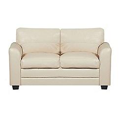 Debenhams - Bonded leather 'Lola' sofa