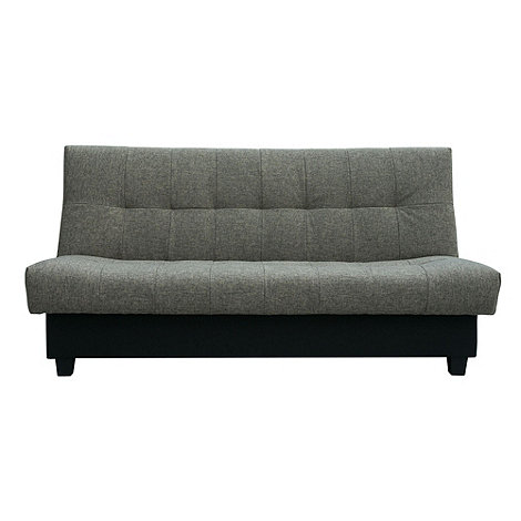 Debenhams - Grey +San Jose+ sofa bed