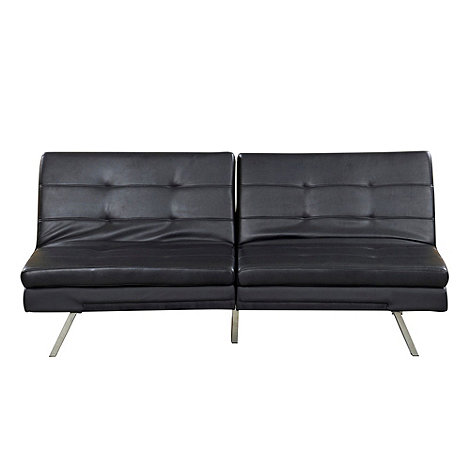 Debenhams - Bonded leather +Acapulco+ sofa bed