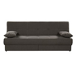 Debenhams - Brown 'San Diego' sofa bed