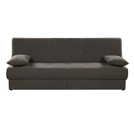Debenhams - Brown +San Diego+ sofa bed