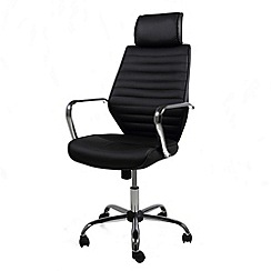 Debenhams - Black 'Earth' office chair