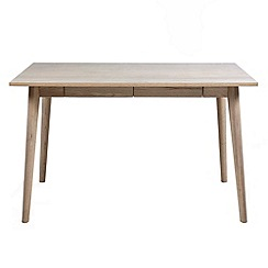 Debenhams - Oak finished 'Marley' desk