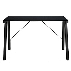 Debenhams - Black 'Thalia' desk